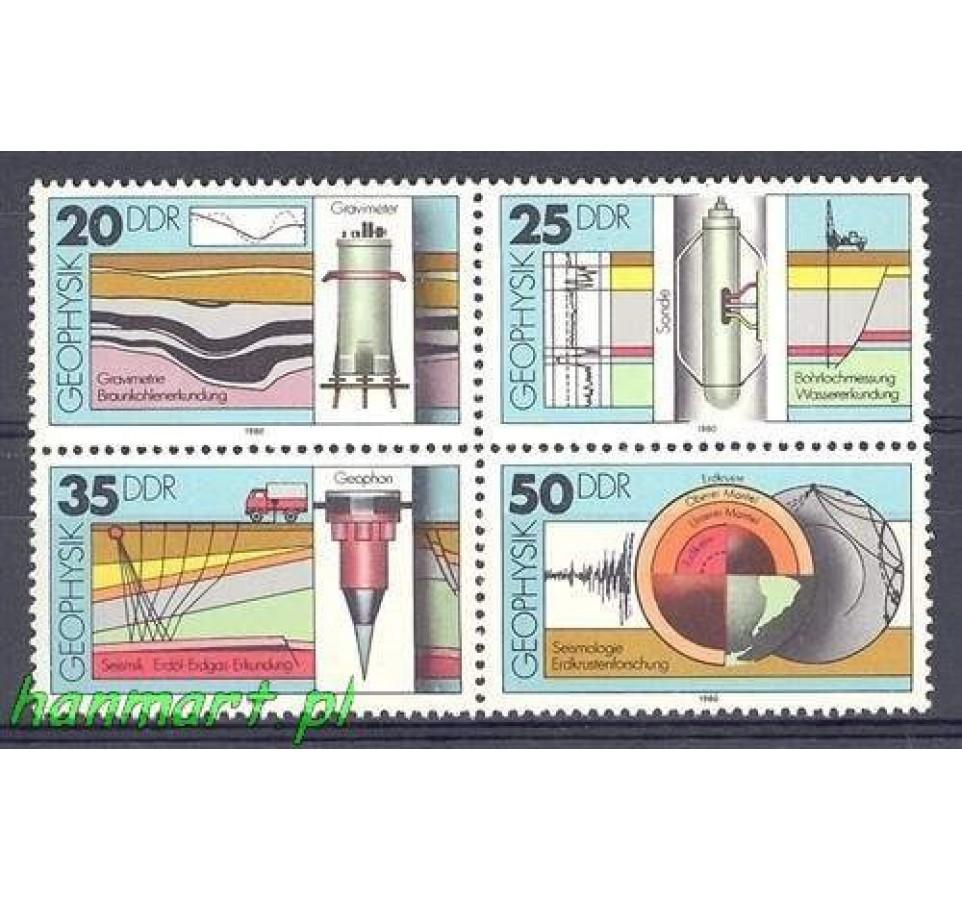 NRD / DDR 1980 Mi 2557-2560 Czyste **