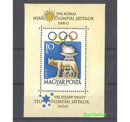Węgry 1960 Mi bl 30 Czyste **