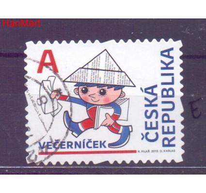 Znaczek Czechy 2015 Mi mpl838e Stemplowane