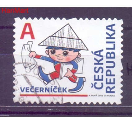 Znaczek Czechy 2015 Mi mpl838h Stemplowane