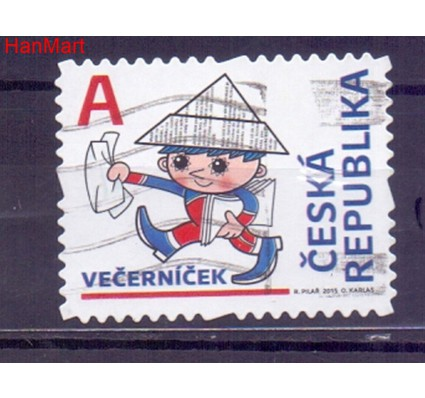Znaczek Czechy 2015 Mi mpl838i Stemplowane
