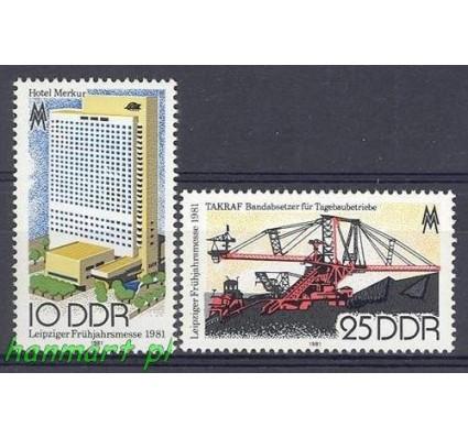NRD / DDR 1981 Mi 2593-2594 Czyste **