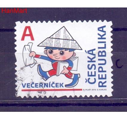 Znaczek Czechy 2015 Mi mpl838c Stemplowane