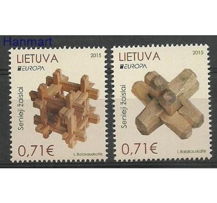 Znaczek Litwa 2015 Mi 1187-1188 Czyste **