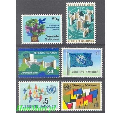 Znaczek Narody Zjednoczone Wiedeń 1979 Mi 1-6 Czyste **