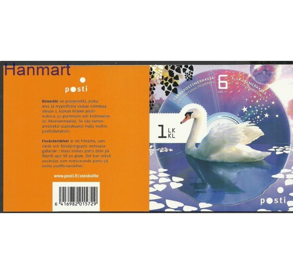 Finlandia 2012 Mi mh 2200-2205 Czyste **