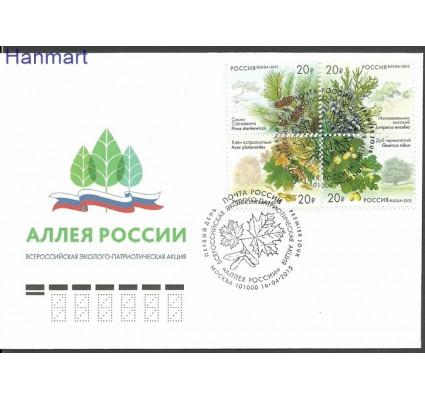 Znaczek Rosja 2015 Mi 2150-2153 FDC