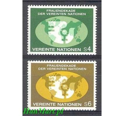 Narody Zjednoczone Wiedeń 1980 Mi 9-10 Czyste **