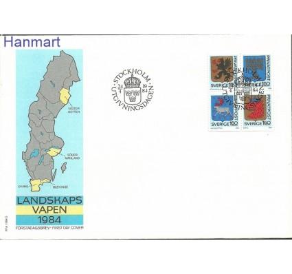 Szwecja 1984 Mi 1278-1281 FDC