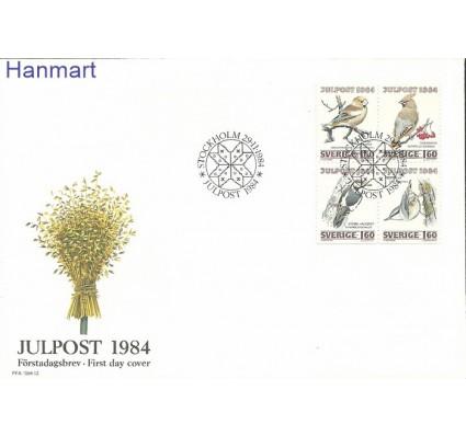 Znaczek Szwecja 1984 Mi 1307-1310 FDC