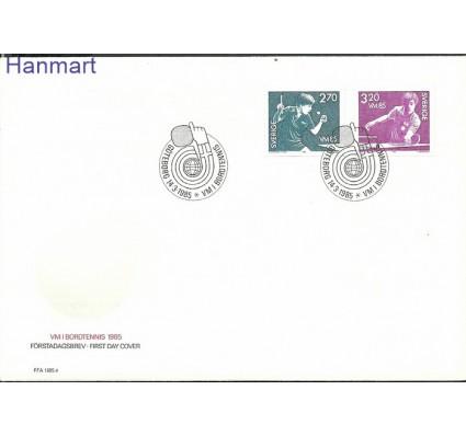 Znaczek Szwecja 1985 Mi 1326-1327 FDC
