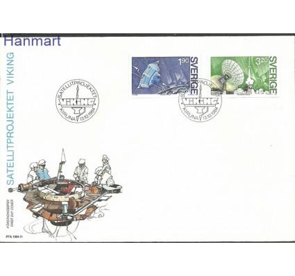 Szwecja 1984 Mi 1305-1306 FDC