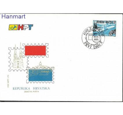 Chorwacja 1991 Mi 179 FDC