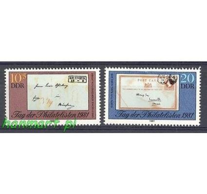 Znaczek NRD / DDR 1981 Mi 2646-2647 Czyste **