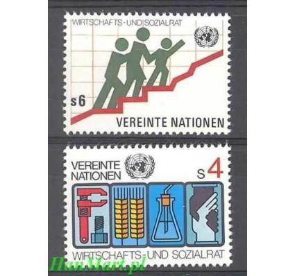 Narody Zjednoczone Wiedeń 1980 Mi 14-15 Czyste **