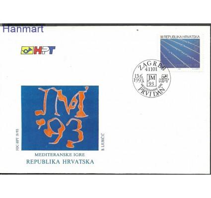Znaczek Chorwacja 1993 Mi 246 FDC