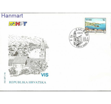 Chorwacja 1994 Mi 267 FDC
