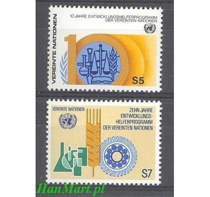 Narody Zjednoczone Wiedeń 1981 Mi 21-22 Czyste **