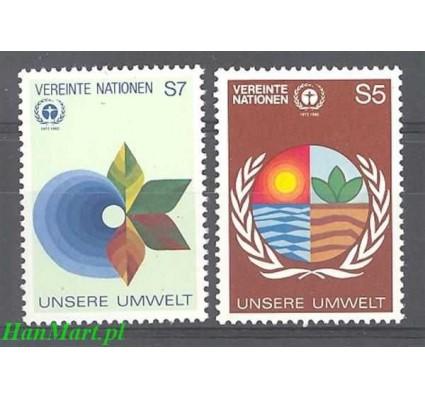 Narody Zjednoczone Wiedeń 1982 Mi 24-25 Czyste **