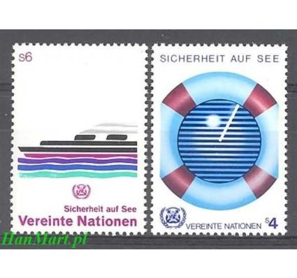 Narody Zjednoczone Wiedeń 1983 Mi 30-31 Czyste **