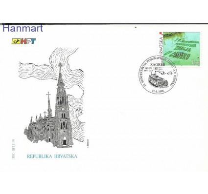 Chorwacja 1998 Mi 467 FDC