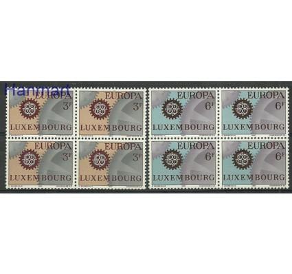 Znaczek Luksemburg 1967 Mi 748-749 Czyste **