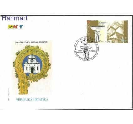 Znaczek Chorwacja 1998 Mi 483 FDC