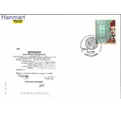 Znaczek Chorwacja 2000 Mi 537 FDC