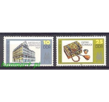 Znaczek NRD / DDR 1982 Mi 2733-2734 Czyste **