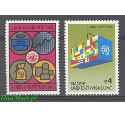 Narody Zjednoczone Wiedeń 1983 Mi 34-35 Czyste **