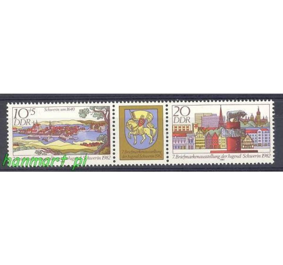 NRD / DDR 1982 Mi 2722-2723 Czyste **