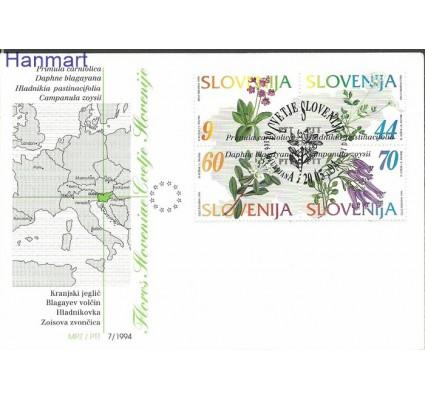 Słowenia 1994 Mi 82-85 FDC