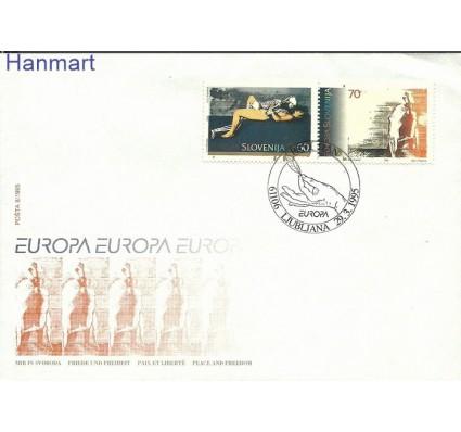 Znaczek Słowenia 1995 Mi 110-111 FDC