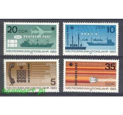 NRD / DDR 1983 Mi 2770-2773 Czyste **
