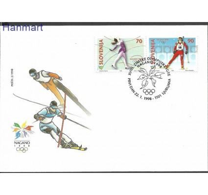 Znaczek Słowenia 1998 Mi 217-218 FDC