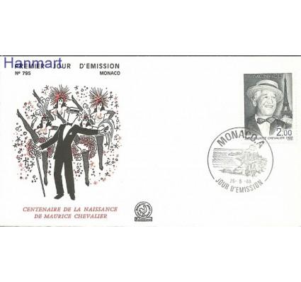 Monako 1988 Mi 1872 FDC