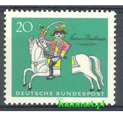 Niemcy 1970 Mi 623 Czyste **