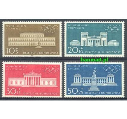 Znaczek Niemcy 1970 Mi 624-627 Czyste **