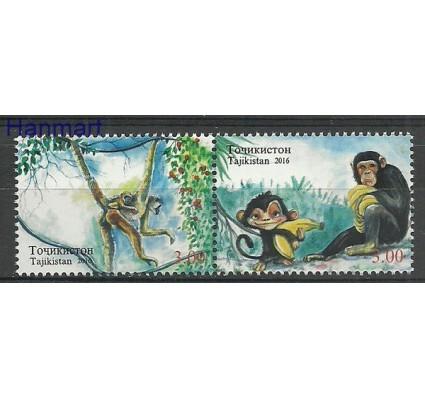 Znaczek Tadżykistan 2016 Mi 723-724 Czyste **