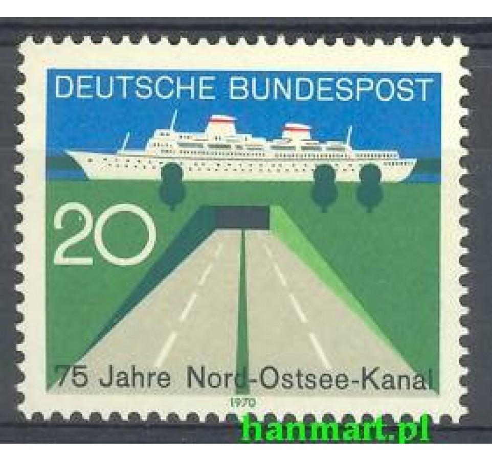 Niemcy 1970 Mi 628 Czyste **