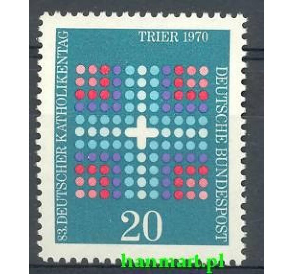 Niemcy 1970 Mi 648 Czyste **