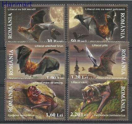 Znaczek Rumunia 2006 Mi 6105-6110 Czyste **