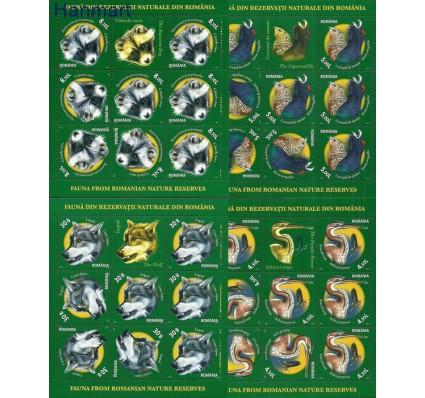 Znaczek Rumunia 2011 Mi ark6542-6545 Czyste **