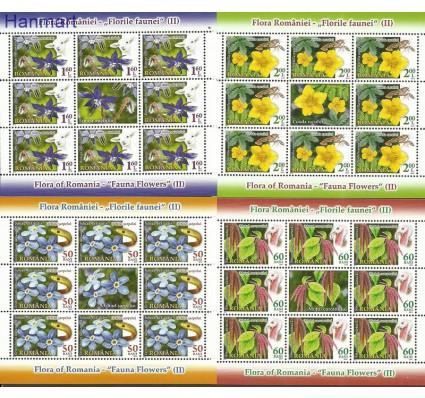 Znaczek Rumunia 2012 Mi ark6591-6594 Czyste **