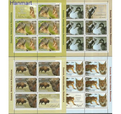 Znaczek Rumunia 2013 Mi ark6754-6757 Czyste **