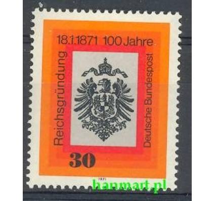 Niemcy 1971 Mi 658 Czyste **