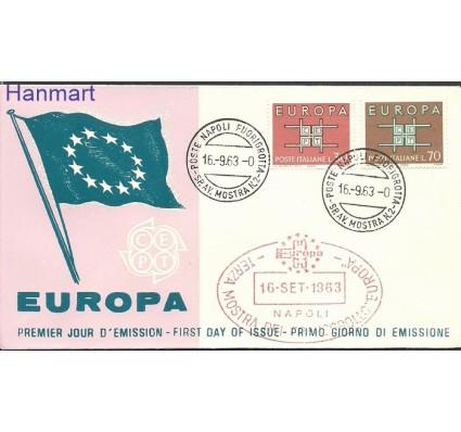 Znaczek Włochy 1963 Mi 1149-1150 FDC