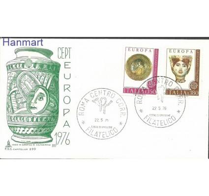 Znaczek Włochy 1976 Mi 1530-1531 FDC