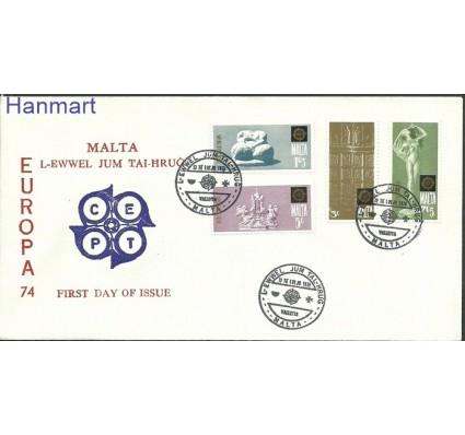 Znaczek Malta 1974 Mi 493-496 FDC