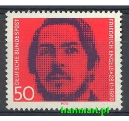 Niemcy 1970 Mi 657 Czyste **